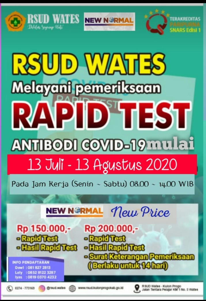 Rsud Rapid Tes
